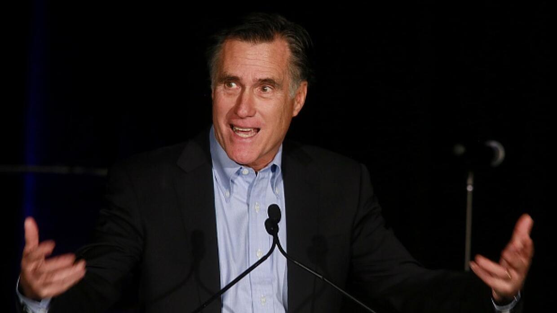 Excandidato presidencial republicano Mitt Romney
