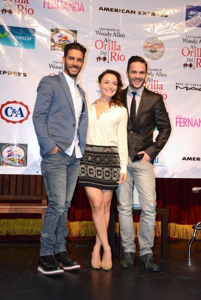 Los actores unirán su talento junto a Marimar Vega para protagonizar una...
