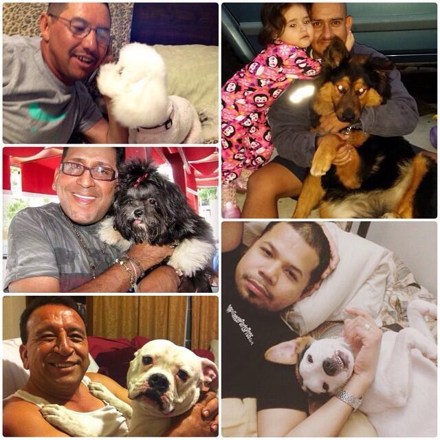 Papás amorosos, amigos de Margarito