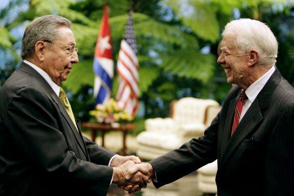 """""""Estoy aquí para visitar a la gente cubana, a la gente del gobierno y a..."""