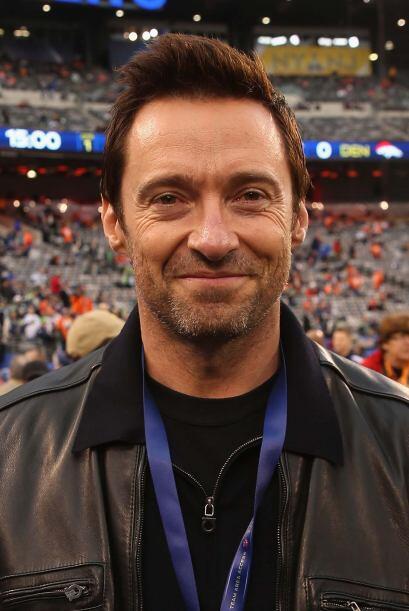 ¡Wolverine no se perderá el Super Bowl! El actor Hugh Jackman presente.