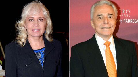 Carla Estrada y Enrique Guzmán.