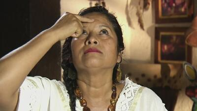 """La """"mujer-medicina"""", una curandera que encuentra sus medicamentos en la madre tierra"""