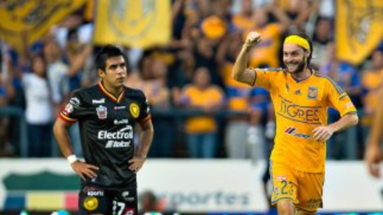 Gerardo Lugo hizo el único gol del partido.