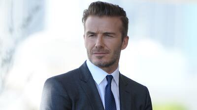 David Beckham será dueño del equipo de fútbol de Miami