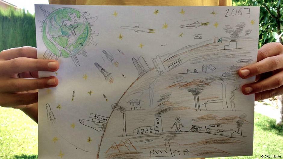 ¿Cómo será el planeta en 50 años? Niños y niñas del mundo responden con...