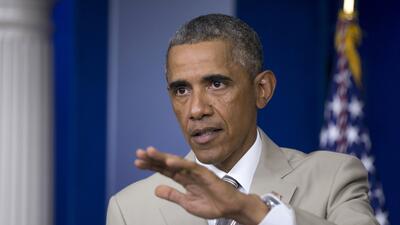 """Obama: """"Tenemos que ofrecer una alternativa entre ISIS y Assad"""""""