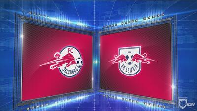 Red Bull Salzburg 1-0 RB Leipzig -  GOLES Y RESUMEN - Grupo B - UEFA Europa League