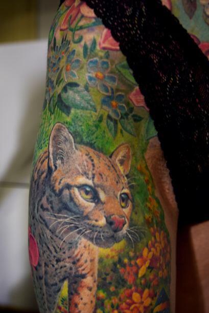 Y sobre todo, por el enorme tatuaje que él le propuso que le haría.