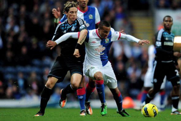 Fernando Torres jugó pero no gritó.