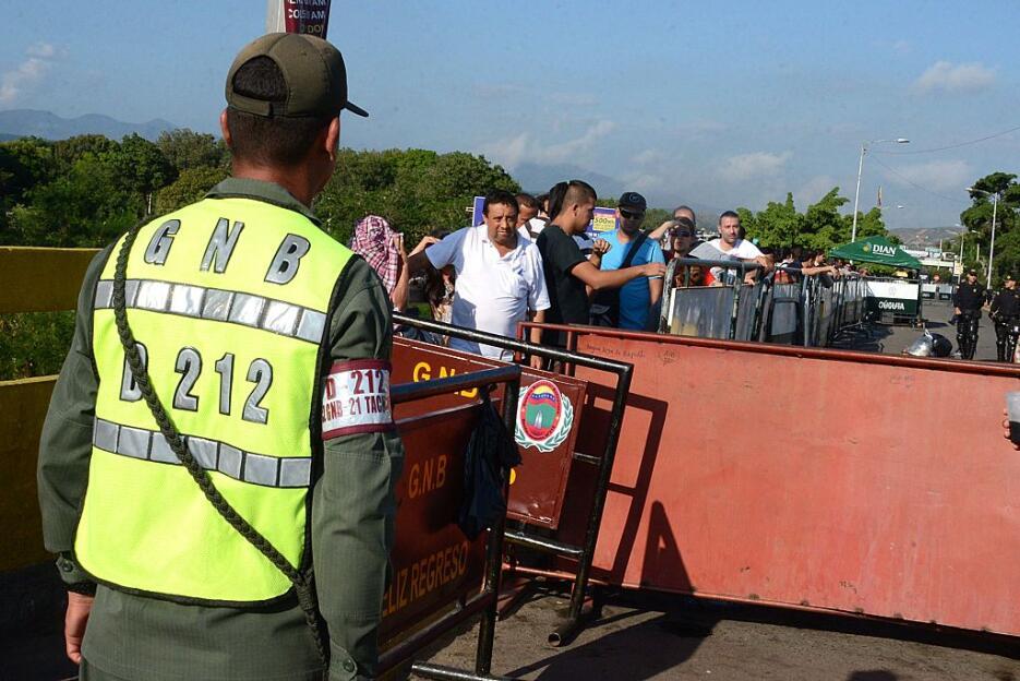 En fotos: La frontera que se convirtió en testigo del drama venezolano V...