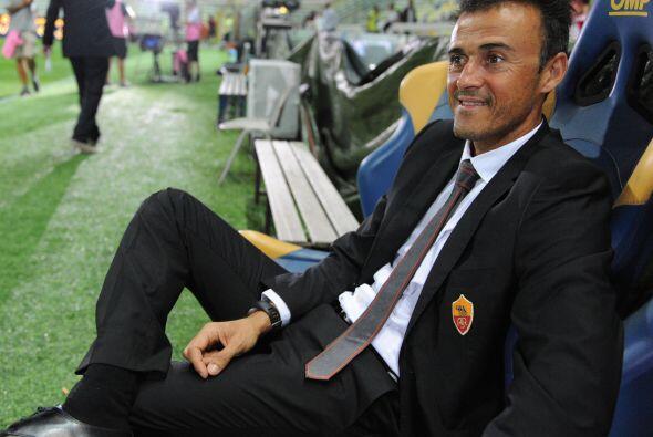 Triunfo de 1-0 para la Roma y hasta que vemos sonreír a su técnico, el e...