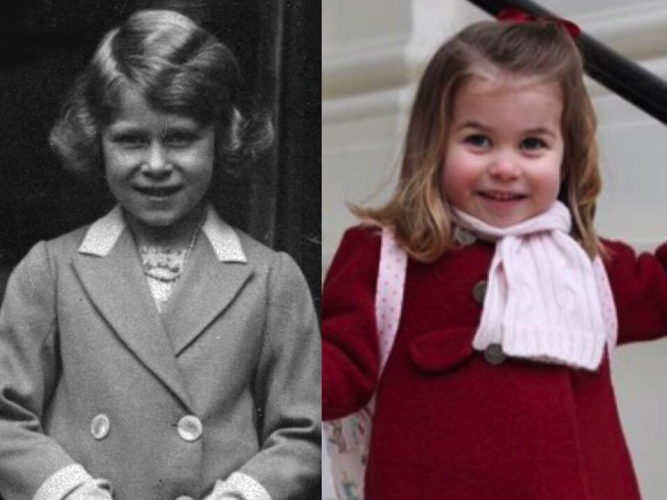Princesa Charlotte Reina Isabel II