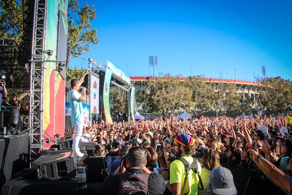 J Balvin se presentó este fin de semana en el Uforia Music Festival 2014...