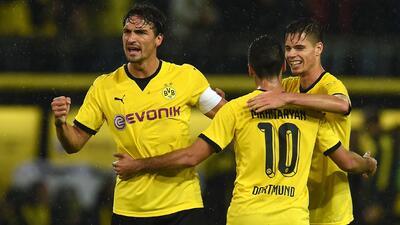 Borussia Dortmund, Athletic y Ajax avanzan a fase de grupos de la Europa League
