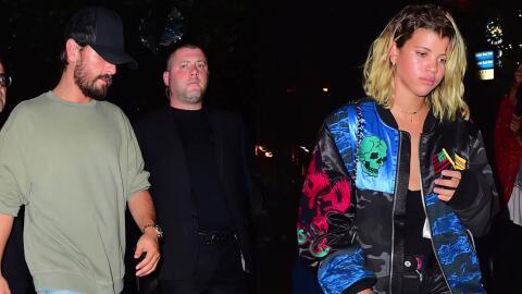 Scott Disick sale de fiesta con Sofía Richie