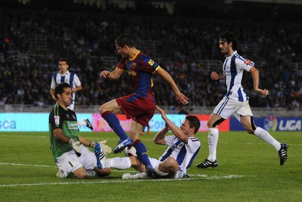 Barcelona enfrentó como visitante a la Real Sociedad. El equipo de Guard...