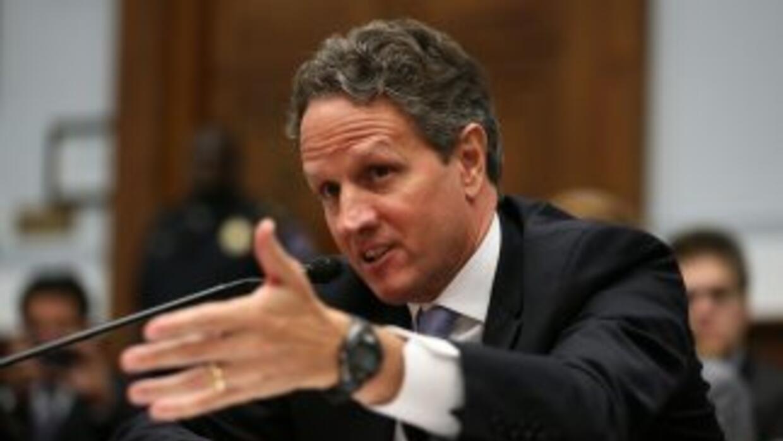 Geithner reconoció que los líderes europeos han dado pasos en la direcci...