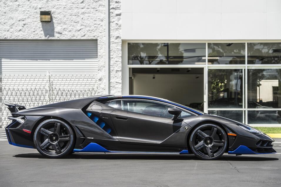 Esta es la primera unidad del Lamborghini Centenario que llegó a EEUU.