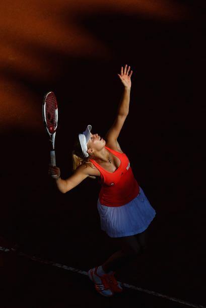 La belleza en el tenis está presente.