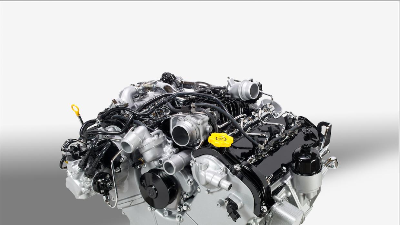 Según la EPA control auxiliar de emisiones en el motor V6 EcoDiesel 3.0...