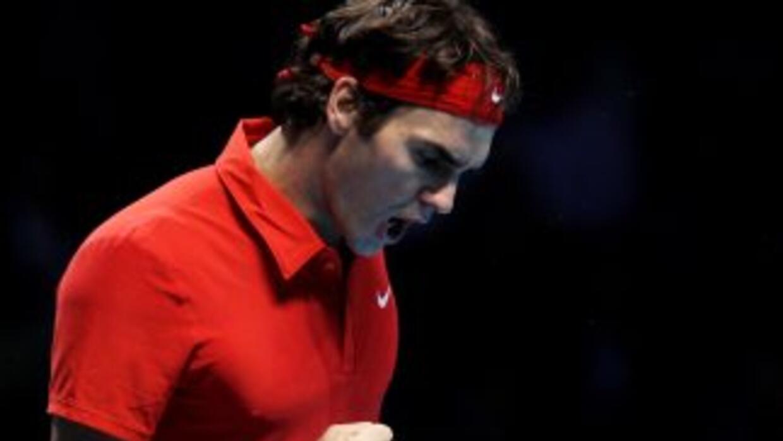 Roger Federer derrotó a Djokovic, mientras que Rafael Nadal venció a And...