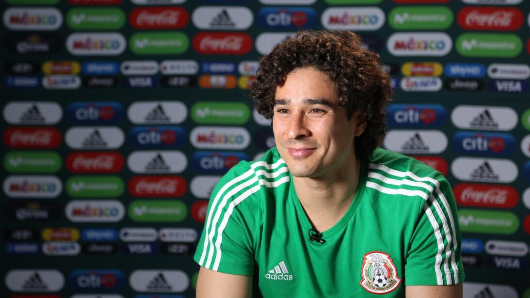 Guillermo Ochoa, una carta casi fija por México en el Mundial de Rusia 2...
