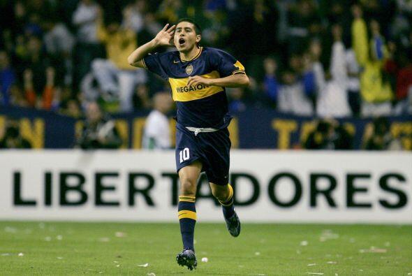 La clase de Juan Román destacó desde sus primeros juegos aunque en una p...