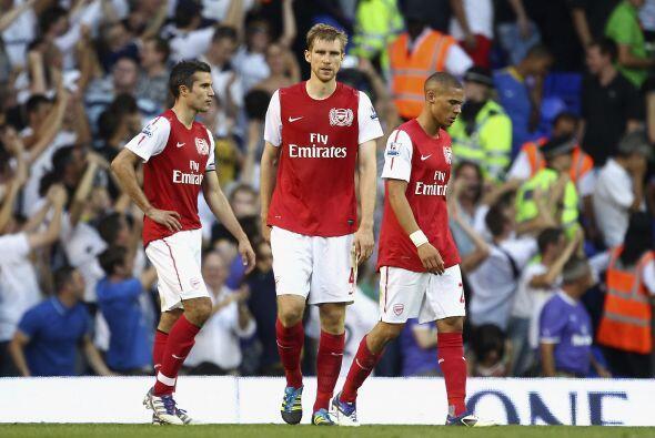 No hubo más goles y Arsenal sumó una derrota más en el torneo.