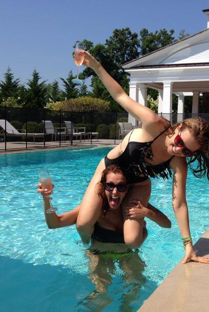Thalía festejó su cumpleaños acompañada por una de sus mejores amigas, l...