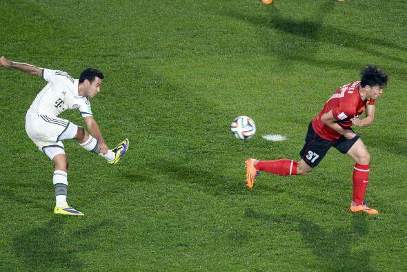 El español Thiago Alcántara jugaba su segundo Mundial de Clubes (el prim...