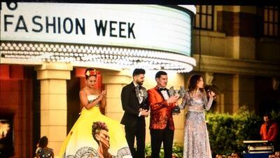 Jomari Goyso fue premiado en la gala de la Metropolitan Fashion Week