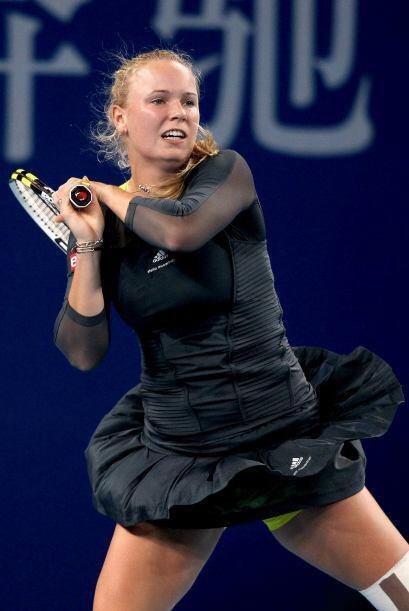 """Wozniacki dijo sentirse """"bien"""" y en """"buena forma"""" tras los 22 competicio..."""