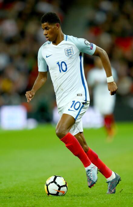 Marcus Rashford - 19 años (Inglaterra / Manchester United)