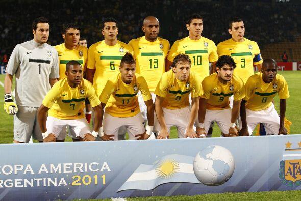 Uno de los que todavía no encuentra su juego es Brasil. La selección 'ca...