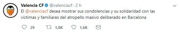 El mundo del deporte se solidariza con las víctimas de Barcelona BCN14.JPG