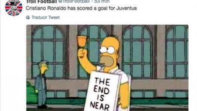 Memelogía: burlas por el doblete de Cristiano Ronaldo con Juventus en la Liga de Italia
