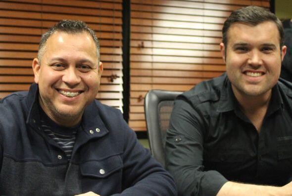 Danny Cruz, director, Amor 107.5  y Alberto Sardiñas, personalidad, Amor...