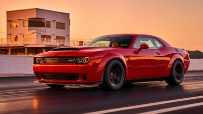 Fotos: Dodge Challenger SRT Demon