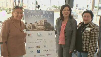 Anuncian la construcción de 100 viviendas para familias de escasos recursos en el este de Los Ángeles