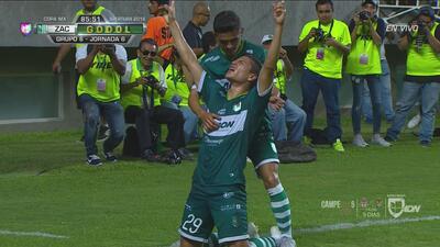 Los goles con los que Zacatepec le remontó 3-2 al Atlas y lo eliminó de la Copa MX