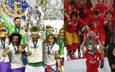 Real Madrid ganó su última Champions en 2017; Liverpool lo...