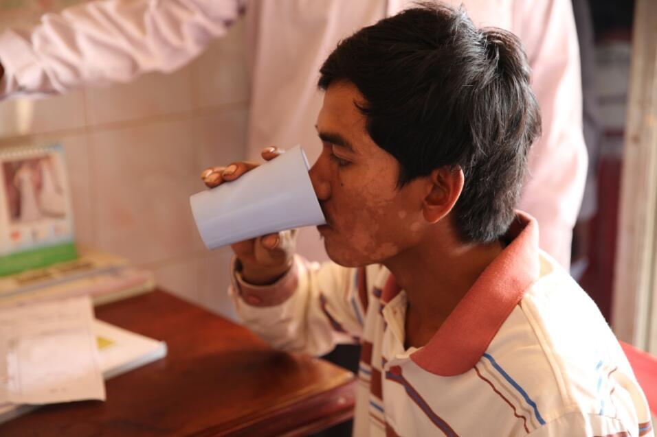 salud malaria falciparum