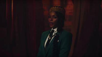 Singer Janelle Monáe appears in the music video for 'Django Jane.'