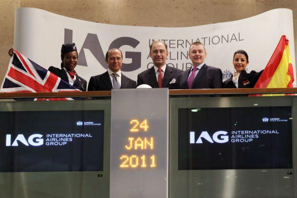 INTERNATIONAL AIRLINES GROUP (IAG)- Esta sociedad resultante de la fusió...