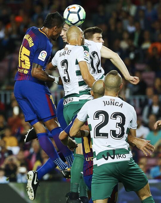 Faena de Messi en la goleada 6-1 del Barcelona sobre Eibar 6364145837800...
