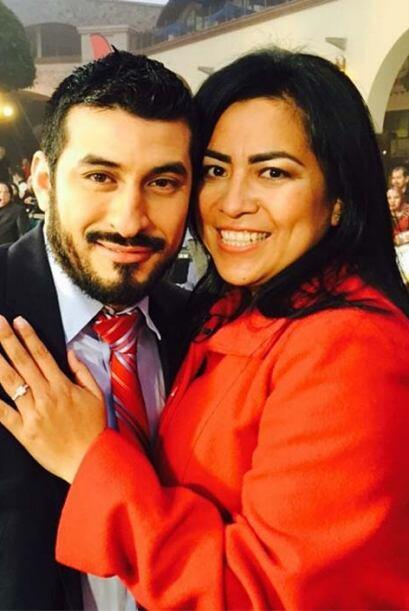 Un emocionante momento se vivió aquí en Plaza México, ¡pues una pareja s...