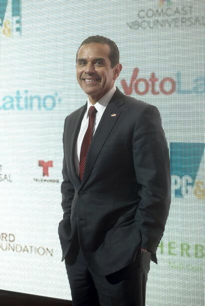 Antonio Villaraigosa, ex alcalde de Los Ángeles,  fue uno de los invitad...