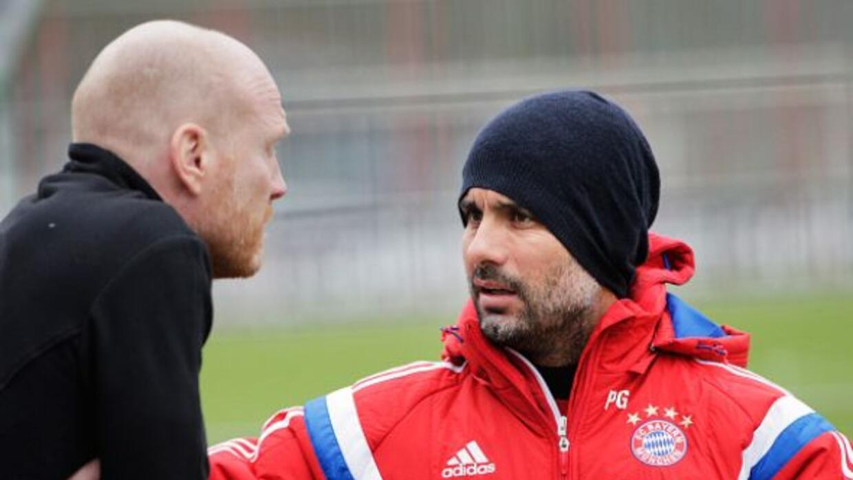 Beckenbauer considera que Pep aún está a gusto en el Bayern Munich.