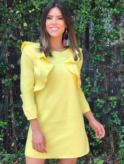 Moda en amarillo en Despierta América